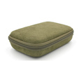 Fashion ladies eva easy carry travel makeup cosmetic case with zipper