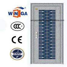 Avec porte de sécurité extérieure en verre 304 en acier inoxydable (W-GH-18)
