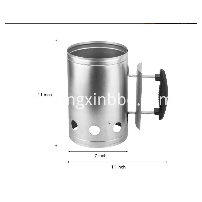Chimney Starter To Light All Types Of Lump Charcoal And Chimney Lighter For Camping Picnic Outdoor Cookin