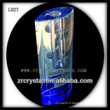 Beau vase en cristal L027