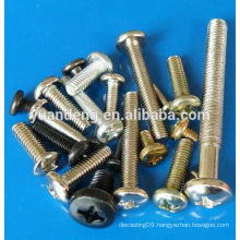 pan head cross slot machines screws