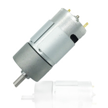 545 DC Motor 37mm Gearbox Dual Shaft