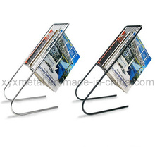Fashinable Float Metal Magazine Rack