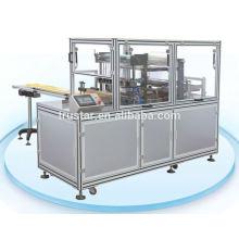 Cosméticos caixa transparente máquina de embalagem de filme