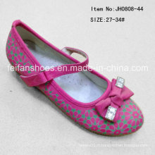Mode Chaussures simples douces Chaussures princesse Chaussures de danse fille (FF0808-44)