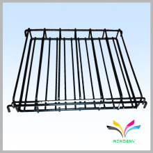 Sturdy welded multifunction black foldable warehouse closet wire shelving