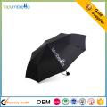 o guarda-chuva de chuva impresso costume guarda-chuva relativo à promoção pequeno de 3 dobras o mini