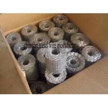 Malla de bobina galvanizada caliente, también llamada malla de ladrillo