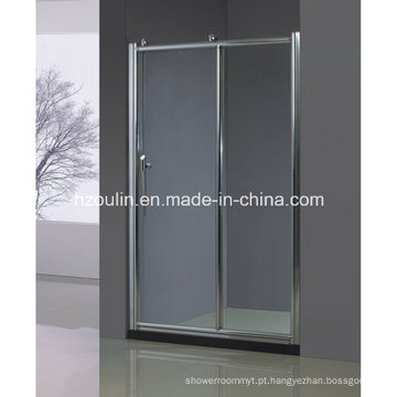 Porta do chuveiro com grande rolo