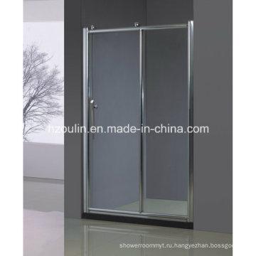 Душевая дверь с большим роликом