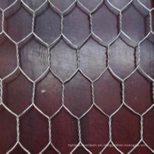 Alambre hexagonal de la cerca de la jaula del animal