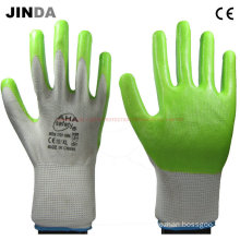 Ns020 Nitrile-Nylon Coated Working Gloves