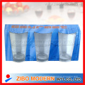Clear Glass Tumbler Cup