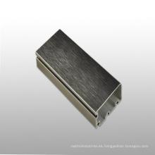 Perfil de aleación de aluminio 6063 Perfil de aluminio personalizado