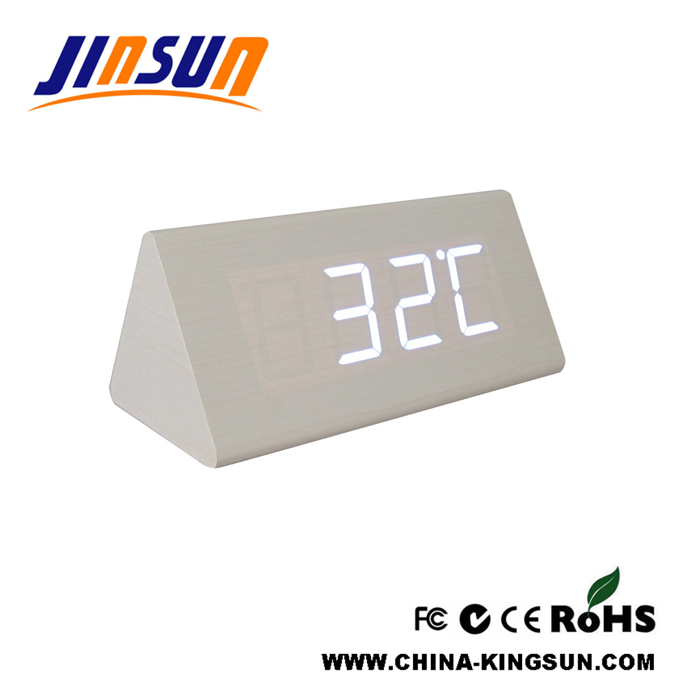 Hotel Use Led Alarm Clock With Usb Line