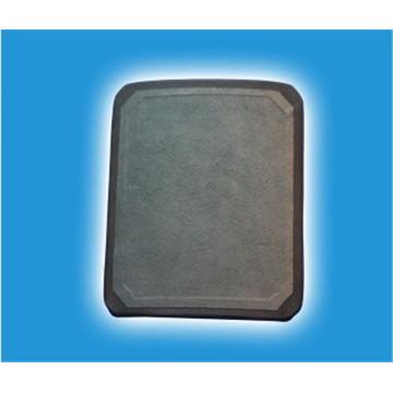 NIJ IV UHMWPE, Sic, plaque pare-balles composite