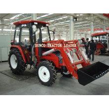 Chargeur de tracteur à 4 roues motrices