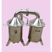 DGJZZ-150 Elétrica de alto efeito de aço inoxidável máquina destiladora de água