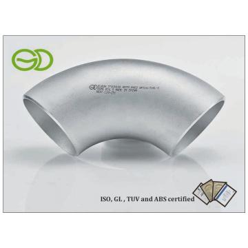 ASTM 403 Connecteur de tube de coude sans soudure (90 ° 3''SCH10S)