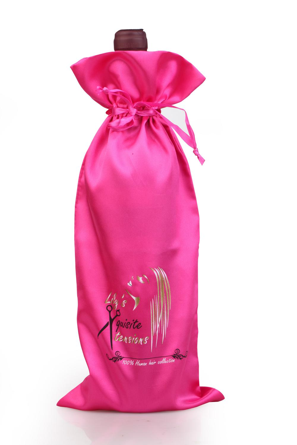 satin bag for wine
