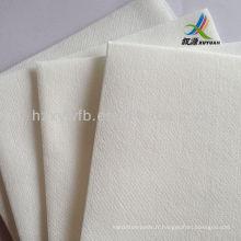 Tissu de nettoyage non-tissé chiffon d'essuie-glace en tissu de maille