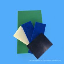Placa colorida fina de 1cm Nylon6 de alto grau