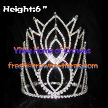 6inch Rhinestone Pageant Queen Crowns