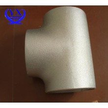 SS304 stainless steel pipe fitting tees