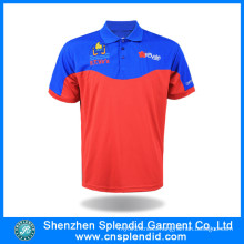 Cheapest Custom Color and Logo 100%Polyester Men Polo Shirt