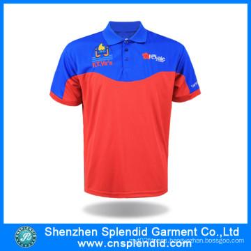Cheapest Custom Color and Logo 100%Polyester Men Polo Shirt