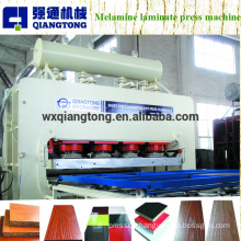 Melamine faced MDF board embossing hot press machine