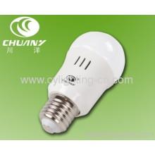 3w Φ50mm×103mm E27 Led Bulb With Plastic Shell And Glass Lamp Shade