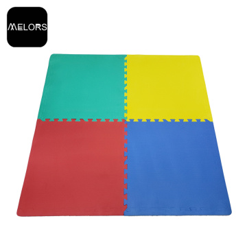 Color liso, no tóxico, Gym EVA Flooring Puzzle Mats