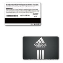 Carte magnétique en rayures magnétiques / carte-cadeau VIP