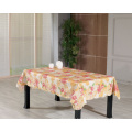 PVC Printed Tablecloth with Flannel Backing (TJ0080)