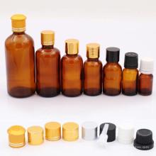 Botella cuentagotas de vidrio para aceite esencial (NBG01)