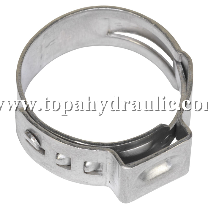 stainless steel types of hose pipe repair clamp