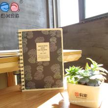 2016 Fashion Spiral Notebook, notebook de alta qualidade da escola, caderno personalizado