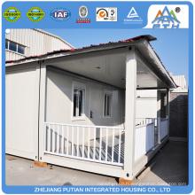 Maison de camp de réfugiés préfabriqués temporaires à construction rapide à bas prix