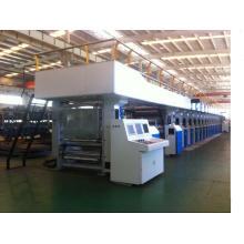 Rotationstiefdruckmaschine mit elektronischem Wellenantrieb von 250m / min