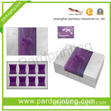 Environmental Mooncake Cardboard Packaging Box (QBF-1415)