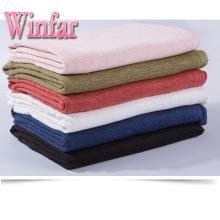 190gsm сгущает ткань вязания пеньки 100% для одежды
