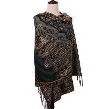 196 * 90cm Pashmina lenço de inverno xale liso para senhora