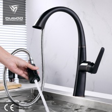 Jeden dźwignia Pul Down Sink Kitchen Mixer Faucet