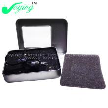 800-1200puffs E Cig, EGO Metal Box with Faom, USB Charger E Cig Liquid