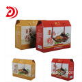 Customization non-staple food cardboard box with handle​