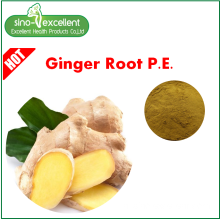 Ginger root extract Gingerols 1% -5% HPLC