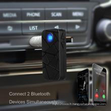 Le meilleur adaptateur de voiture audio Bluetooth mains libres