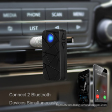 Hansfree Bluetooth Auto Audio Receiver Adapter for Home/ Car Audio System