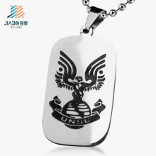 Top Quality China Factory Wholesale Custom Military Dog Tag